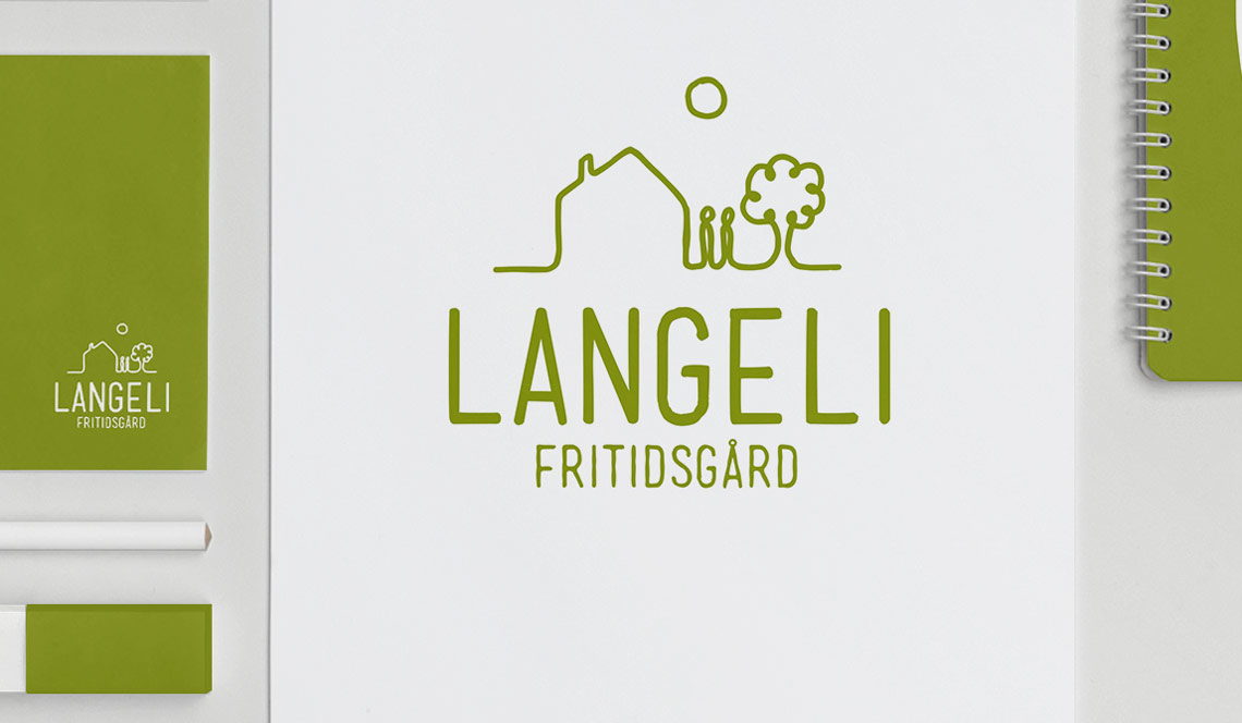 Logodesign for Langeli Fritidsgård