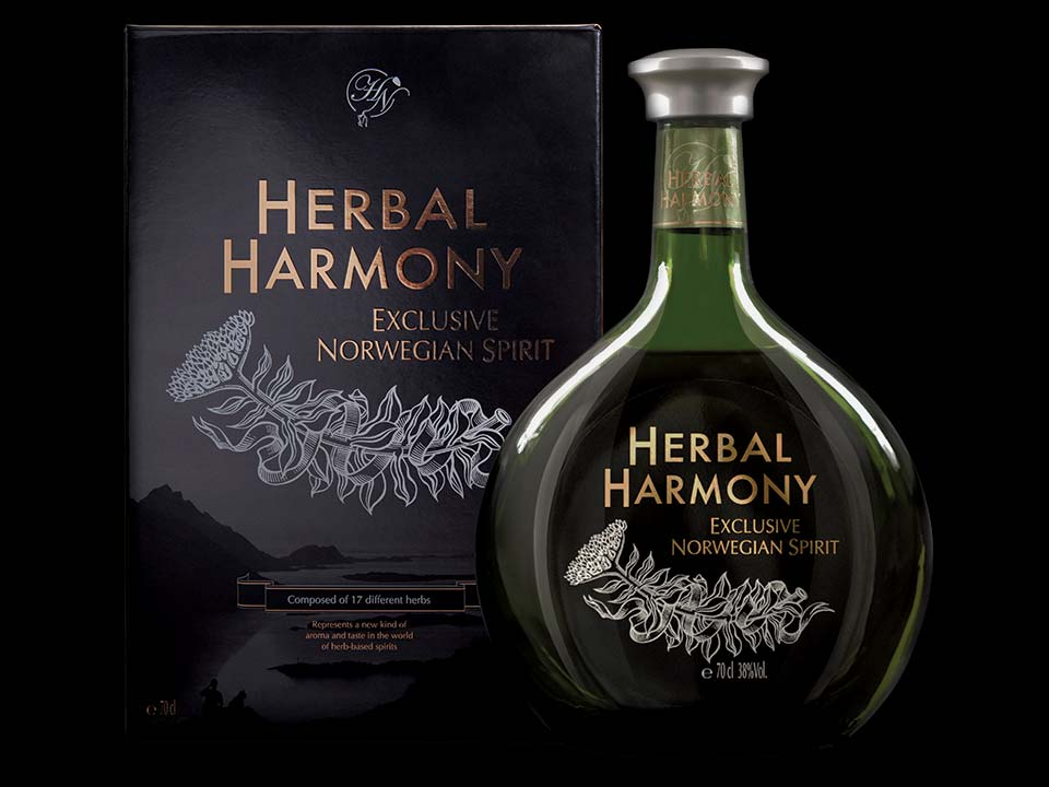 Design av emballasje for Herbal Harmony